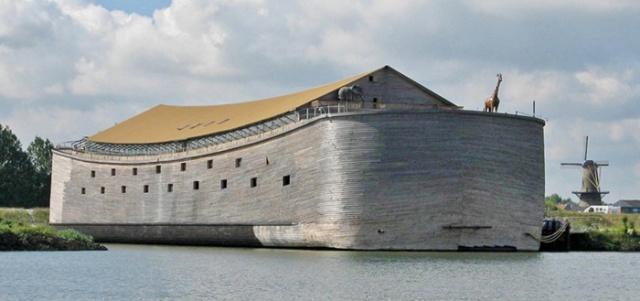 ノアの箱舟のレプリカの画像(2枚目)