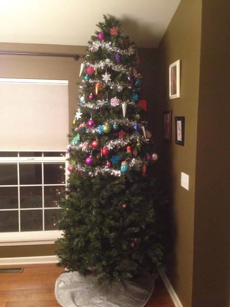 猫や犬がいる家のクリスマスツリーの画像(10枚目)