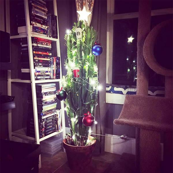 猫や犬がいる家のクリスマスツリーの画像(18枚目)