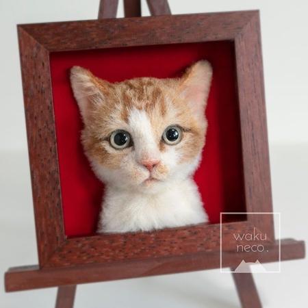 立体的な3Dの猫の肖像の画像(4枚目)
