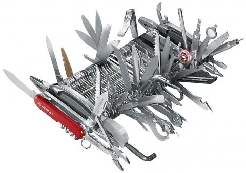 お値段約100万円のツールナイフ