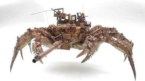 カニ型の戦闘兵器02