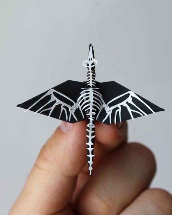 美し過ぎる折鶴の画像(9枚目)