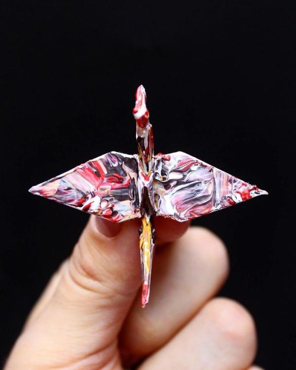 美し過ぎる折鶴の画像(10枚目)