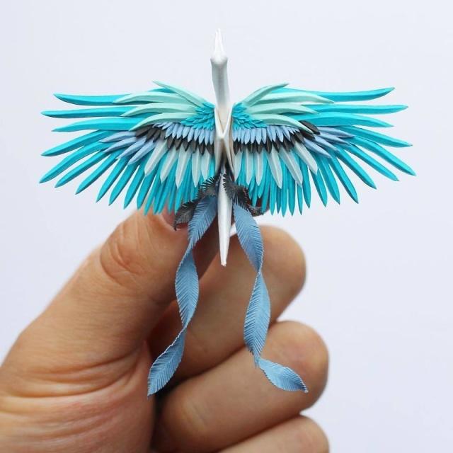美し過ぎる折鶴の画像(13枚目)