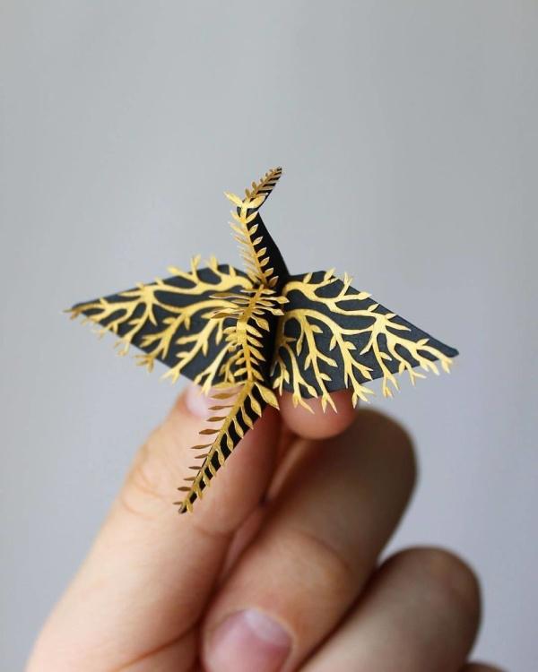 美し過ぎる折鶴の画像(14枚目)