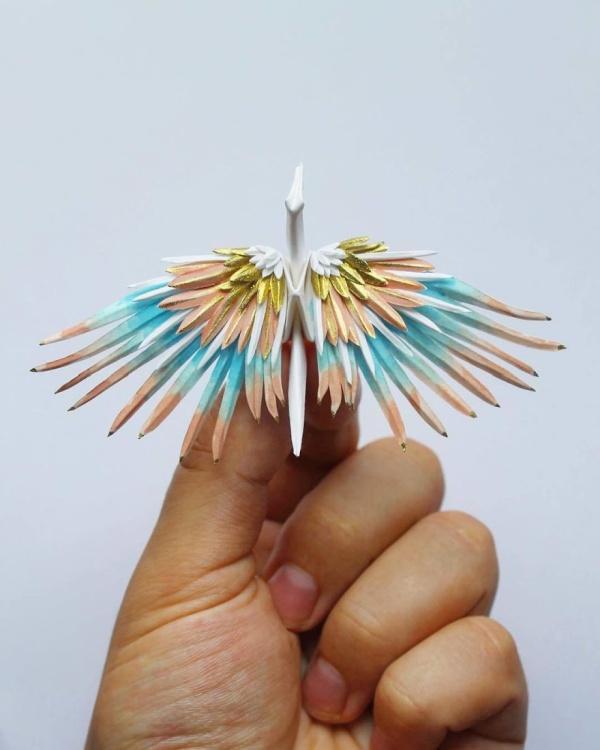 美し過ぎる折鶴の画像(18枚目)