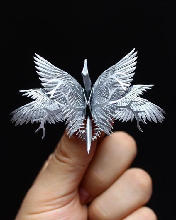 美し過ぎる折鶴の画像(19枚目)