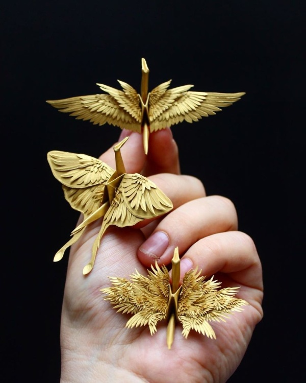 美し過ぎる折鶴の画像(21枚目)