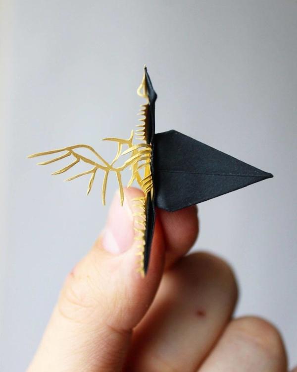 美し過ぎる折鶴の画像(2枚目)