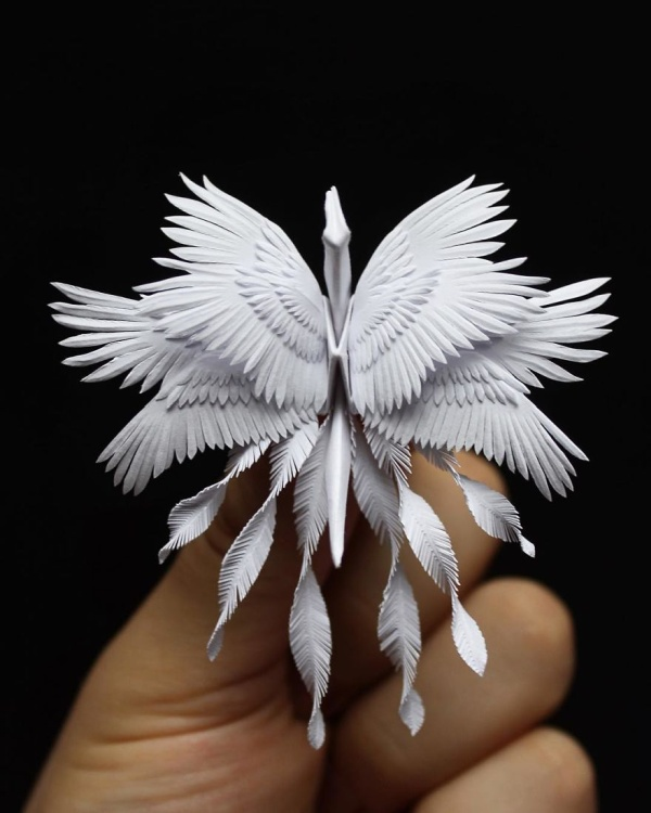 美し過ぎる折鶴の画像(3枚目)