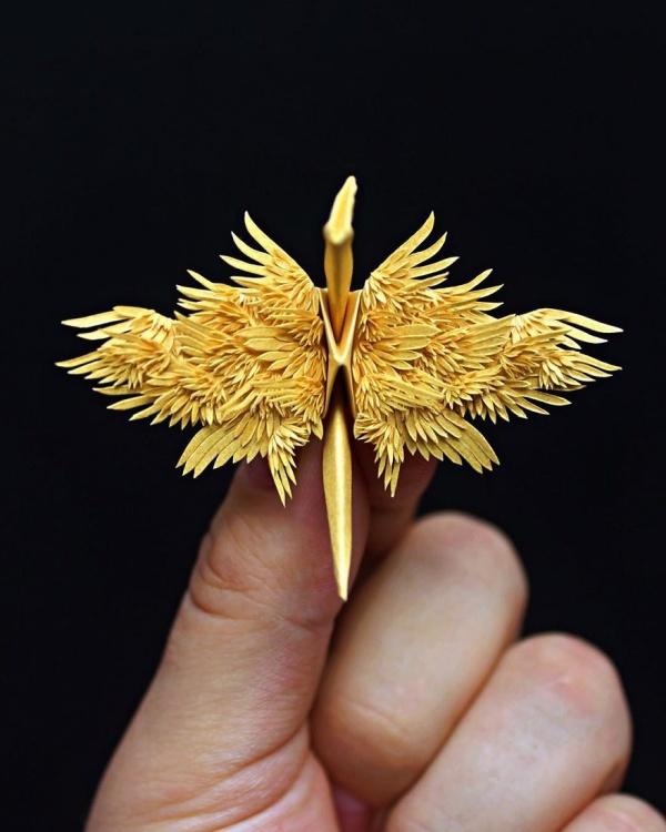 美し過ぎる折鶴の画像(5枚目)