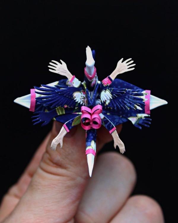 美し過ぎる折鶴の画像(6枚目)