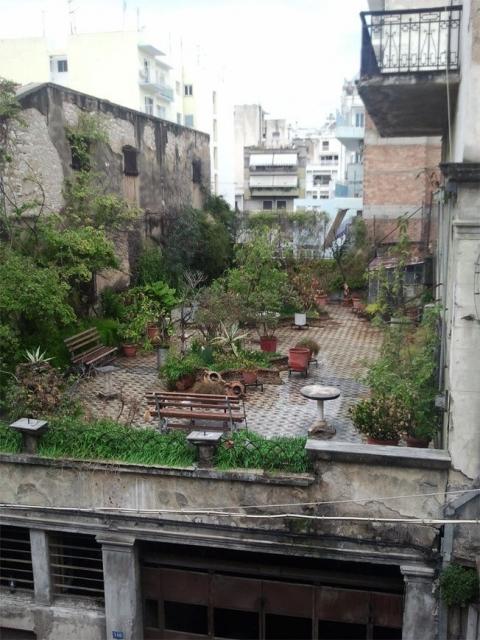 心癒される屋上庭園04