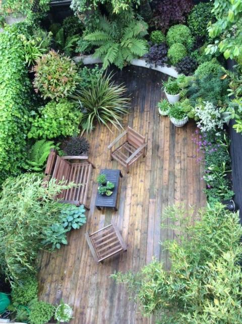 心癒される屋上庭園05