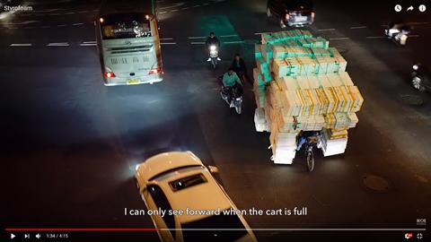 発泡スチロールの容器を自転車に積む理由03