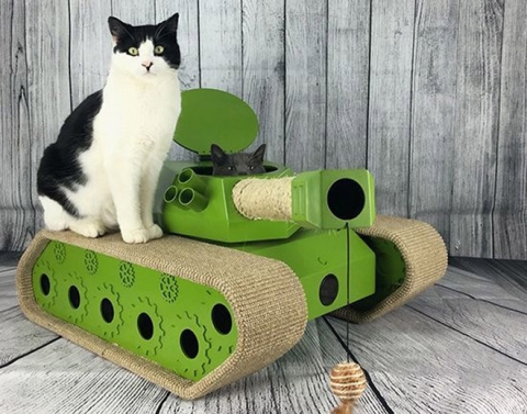 猫と戦車09