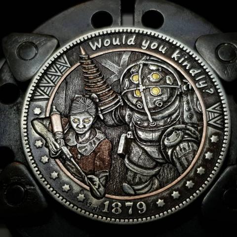 色々なキャラのコイン01