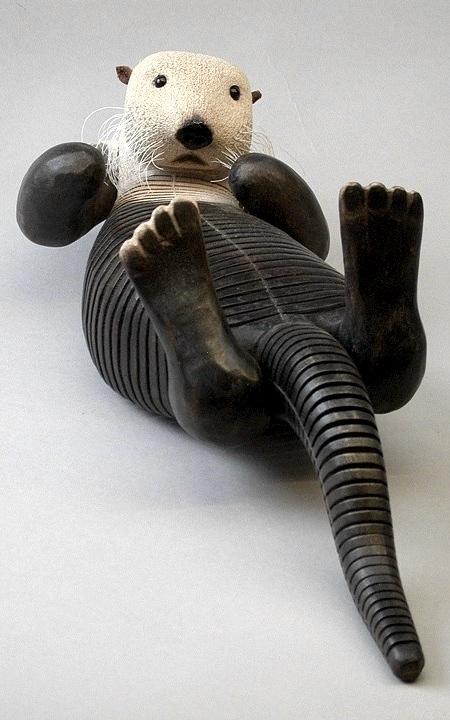 木製のクネクネ動く動物01