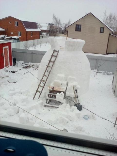 巨大過ぎる雪だるま02