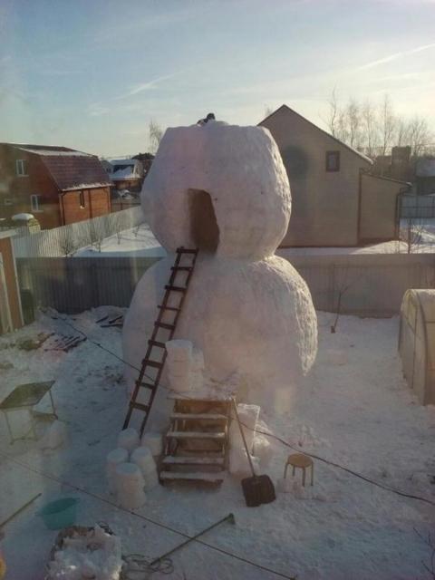巨大過ぎる雪だるま03