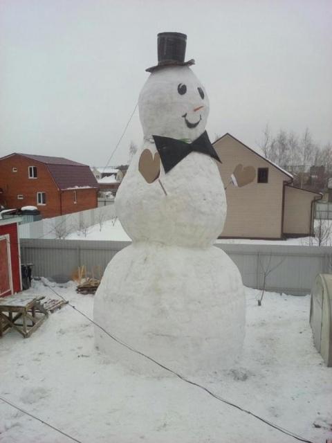 巨大過ぎる雪だるま06