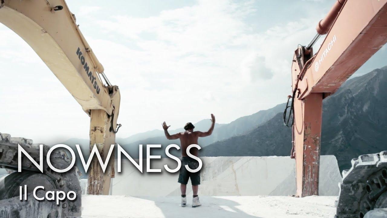 大理石の採石場の作業の迫力と繊細さが凄い!!