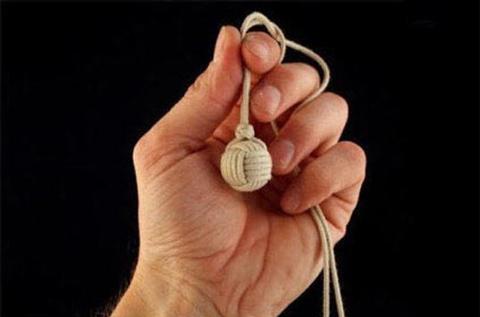 紐だけでまん丸のボール2