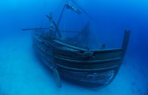沈没した商船のトレジャー01