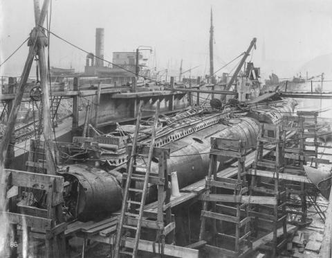 潜水艦『Uボート』の内部01