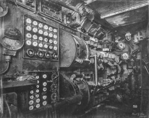 潜水艦『Uボート』の内部04