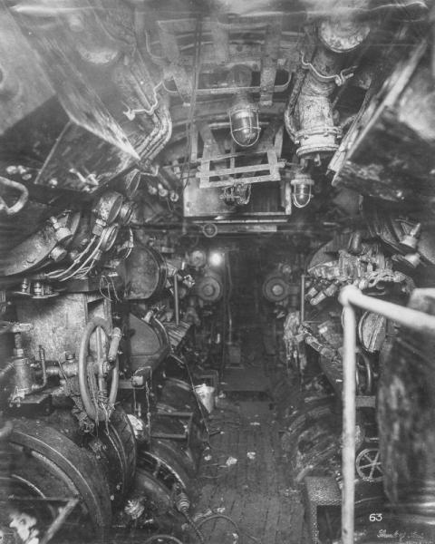 潜水艦『Uボート』の内部06