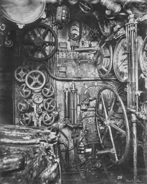 潜水艦『Uボート』の内部07