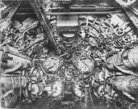 潜水艦『Uボート』の内部09