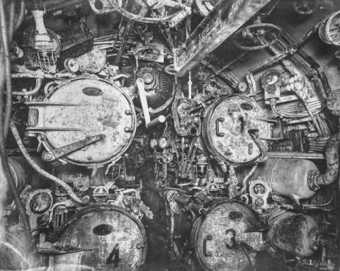 潜水艦『Uボート』の内部10