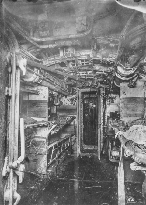 潜水艦『Uボート』の内部13
