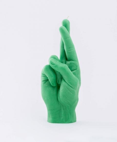 リアルな手の形をしたロウソク01