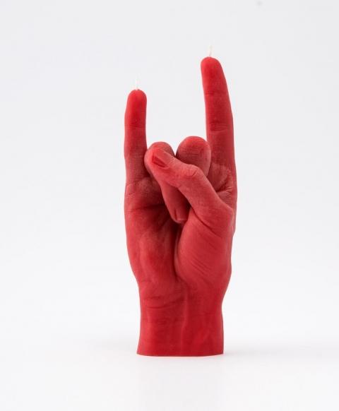 リアルな手の形をしたロウソク04