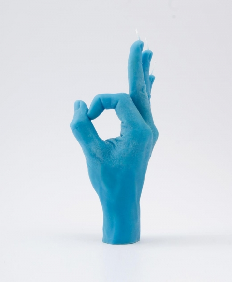 リアルな手の形をしたロウソク05