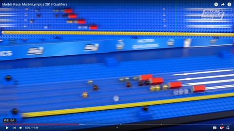 ビー玉オリンピックの予選04