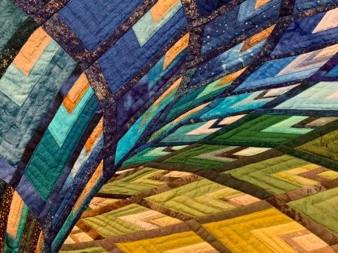 キルトの刺縫で作ったチューブ03