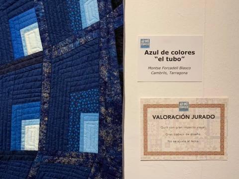 キルトの刺縫で作ったチューブ02