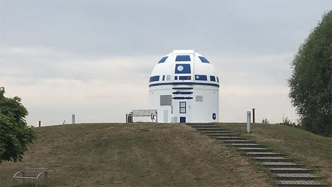 スターウォーズのファンの天文台がR2-D2_03
