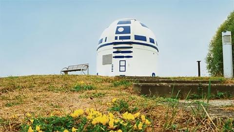 スターウォーズのファンの天文台がR2-D2_04