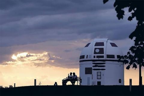 スターウォーズのファンの天文台がR2-D2_05