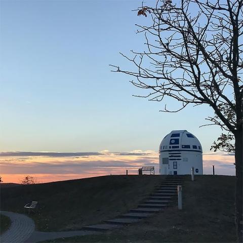 スターウォーズのファンの天文台がR2-D2_08
