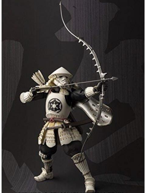甲冑姿のスターウォーズの兵士03