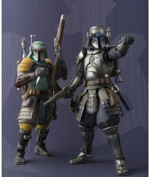 甲冑姿のスターウォーズの兵士05