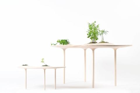 植物を栽培できるテーブル01