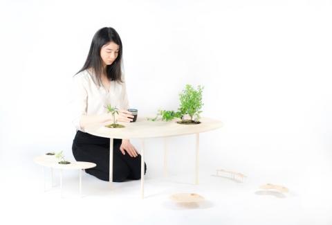 植物を栽培できるテーブル06